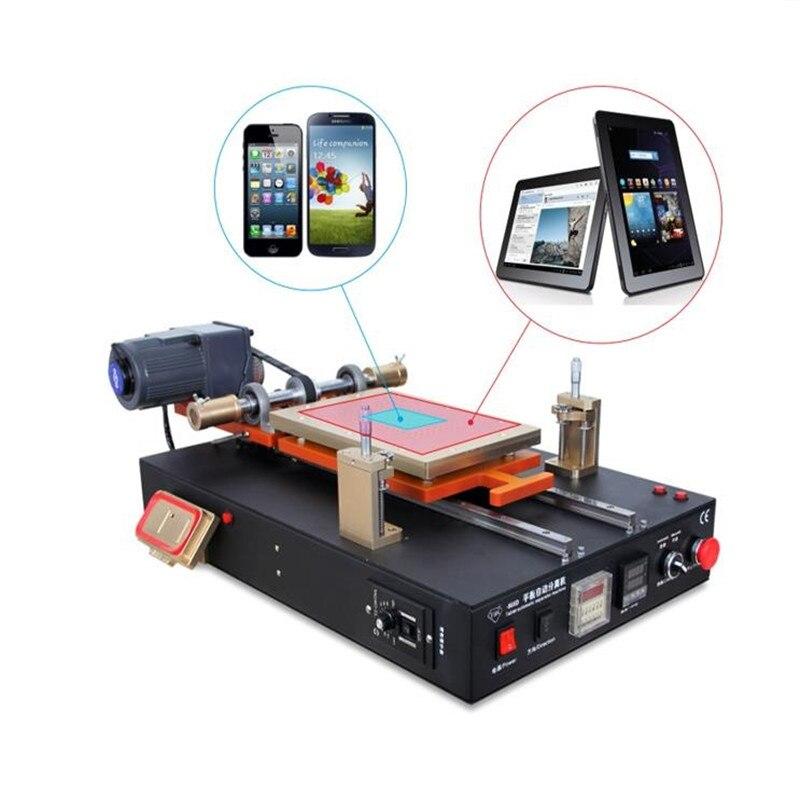 TBK 958D Automatic Vacuum LCD Separator Machine Built in Vacuum Pump For Tablet Cellphone LCD Screen Repair Refurbished