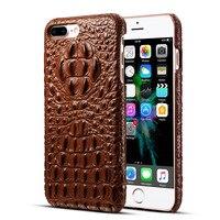 B89 Cameo Crocodile Back Skin Coque Capa For IPhone 7 6 6S Plus 6SPlus Cover For