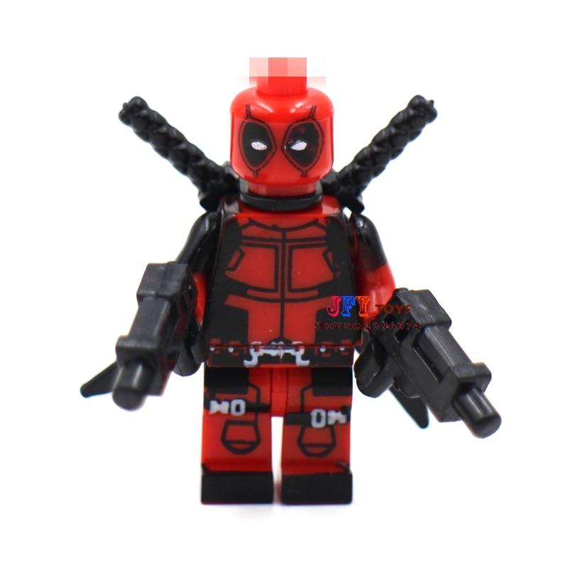 50pcs superhero Deadpool ideas building blocks bricks friends for girl boy kids children toys brinquedos menina