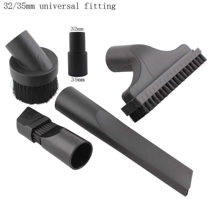 con Accesorio de Cepillo para aspiradoras 32mm-35mm Multiusos de K/ärcher vhbw Boquilla Flexible para Huecos de 73 cm de Largo