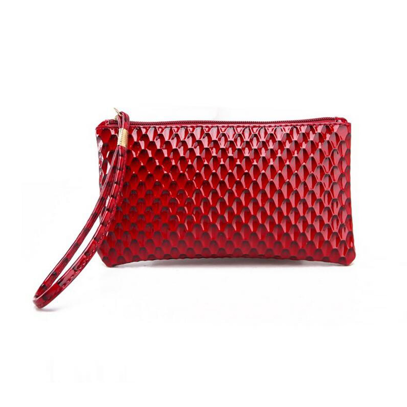 New 19CM * 11CM casual women bags crocodile and snake clutch bag ladies fashion wild classic comfort