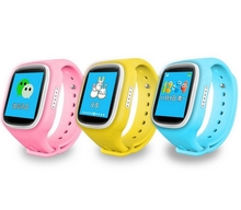 Full 2.5D GPS Smart Watch Kid Watch with Anti-lost smartWatch Kid SOS Emergency with Smartphone App for Android/iOS