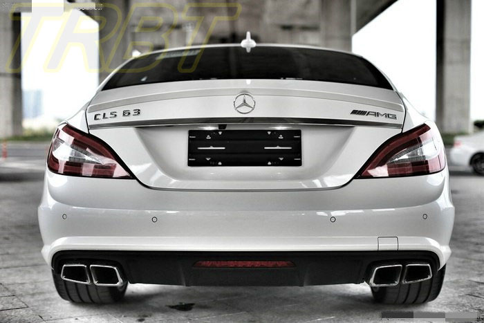 CLS260 Rear Bumper Lip CLS320 CLS63 AMG Style Rear
