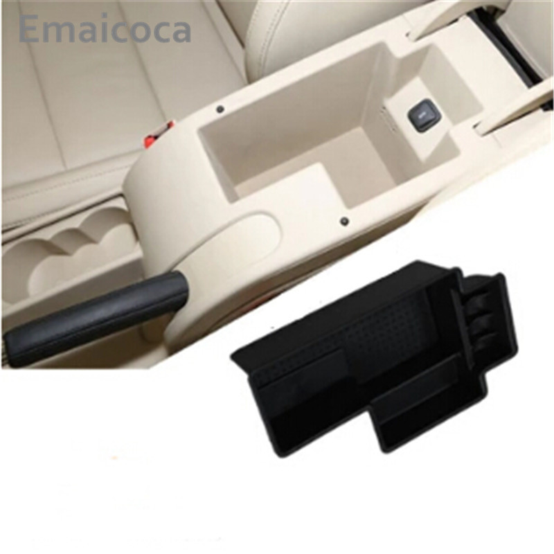 Emaicoca Car armrest storage box Glove box tray storage box case For Skoda Octavia A7 2015-2017/Superb 2009-18, Auto Accessories