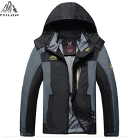 Plus Size L 8XL 2016 Newest Windproof Waterproof High Quality Thin Winter Jacket Men Parka Spring
