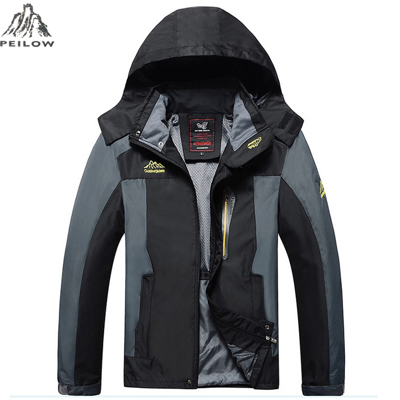 27fbc66283 ᗐPEILOW Plus Size L ~ 6XL, 7XL, 8XL uomo Outwear Antivento ...
