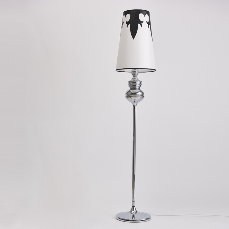 Standing Lamps For Living Room Floor Lamp Kids Long Stand Chrome Cloth Fabric Loft Modern Lights E27 110 240v