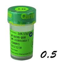 125k lead free 0.5mm high quality solder balls for BGA reballing