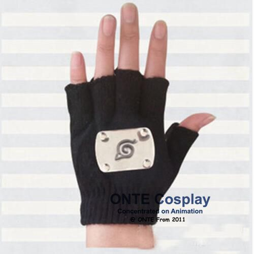 Naruto Cosplay Kakashi Gloves