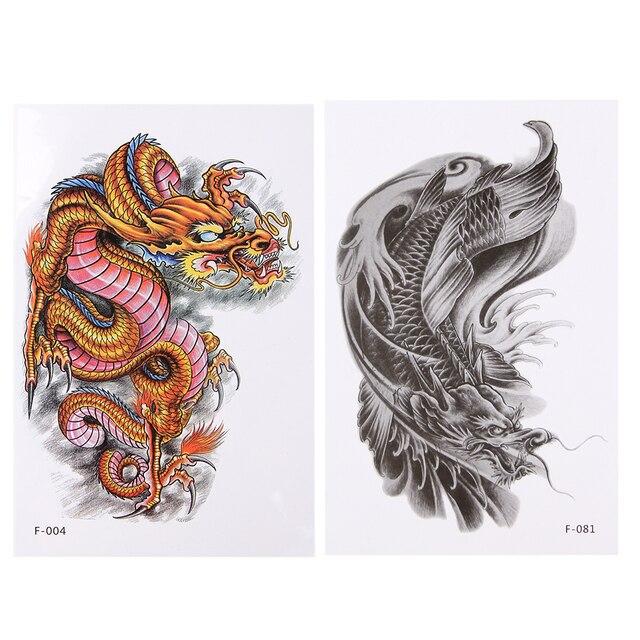 Dragon Epaule Tatouages Tatouage Temporaire Hommes Temporaire