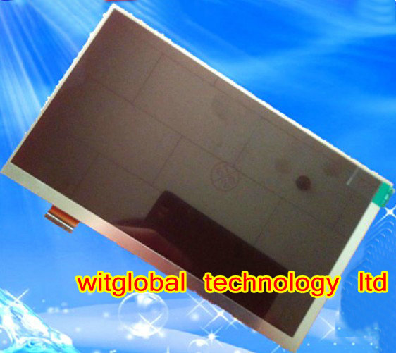 New LCD Display Matrix For 7 Prestigio MultiPad PMT3038 3G Tablet Inner LCD Screen Panel Module Replacement Free Shipping new prestigio multipad pmt3008