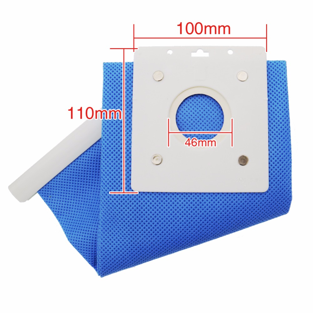 High Quality 5PCS Vacuum cleaner parts Dust Bag for Samsung vacuum cleaner DJ69 00420B SC 4130 Large Capacity Dust Bag in Vacuum Cleaner Parts from Home Appliances