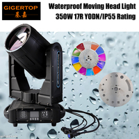 Gigertop TP L350W Outdoor DMX Beam Spot 350W 17R Moving Head Lighting Rain Covers IP55 Waterproof Moving Head Light 110V 220V