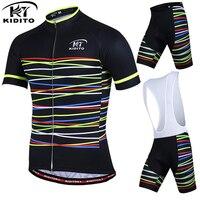 KIDITOKT MEN 2017 Summer Cycling Set Bike Jersey Set Ropa Ciclismo Short Sleeves Cycling Clothing Manches