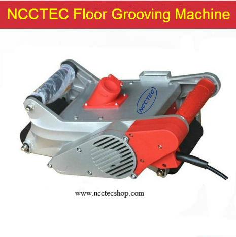 NCCTEC Floor Grooving Machine for Concrete Brick Wall fast FREE shipping |Hand held Cement Cutting Groove tool | 2800w/4hp power