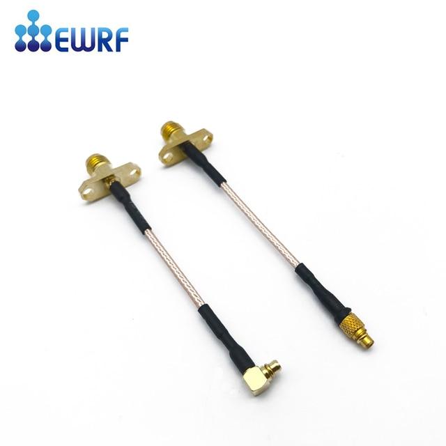 Transmisor FPV 5,8G de SMA hembra a conector macho MMCX RG316 Cable MMCX a extensión SMA RP SMA hembra A MMCX macho