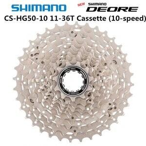 Image 2 - SHIMANO DEORE M6000 CS HG500 10 Mountainbike schwungrad MTB HG500 10 KASSETTE KETTENRAD 11 42T 11 36T 11 34T 10 Geschwindigkeit HG50 10
