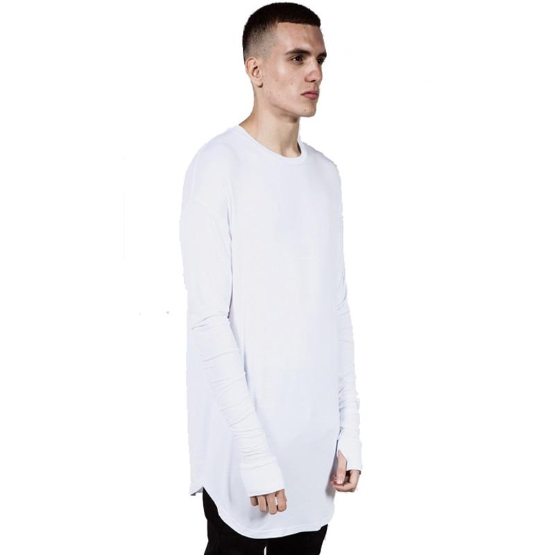 дешево!  Хип-хоп уличная одежда отверстие для большого пальца человек футболка оптом мода футболка мужчины  Л