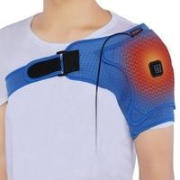 Разогреваемый корсет для коррекции плеч, наплечный пояс для поддержки спины вытесненные плечи восстановление травм плеч боль обертывание