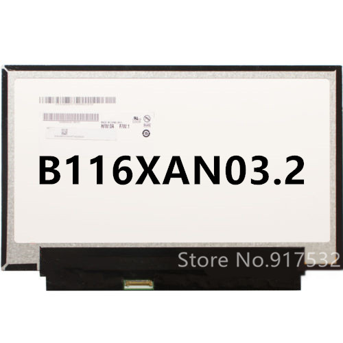 Free shipping 11 6 For Acer Aspire V5 122P MS2377 LCD Screen B116XAN03 2 B116XAN02 2