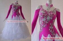 Ballroom Dress For Women Profession Stage Dance Costume Flashes Tango Flamenco Waltz Modren Ballroom Competition Dance Dresses