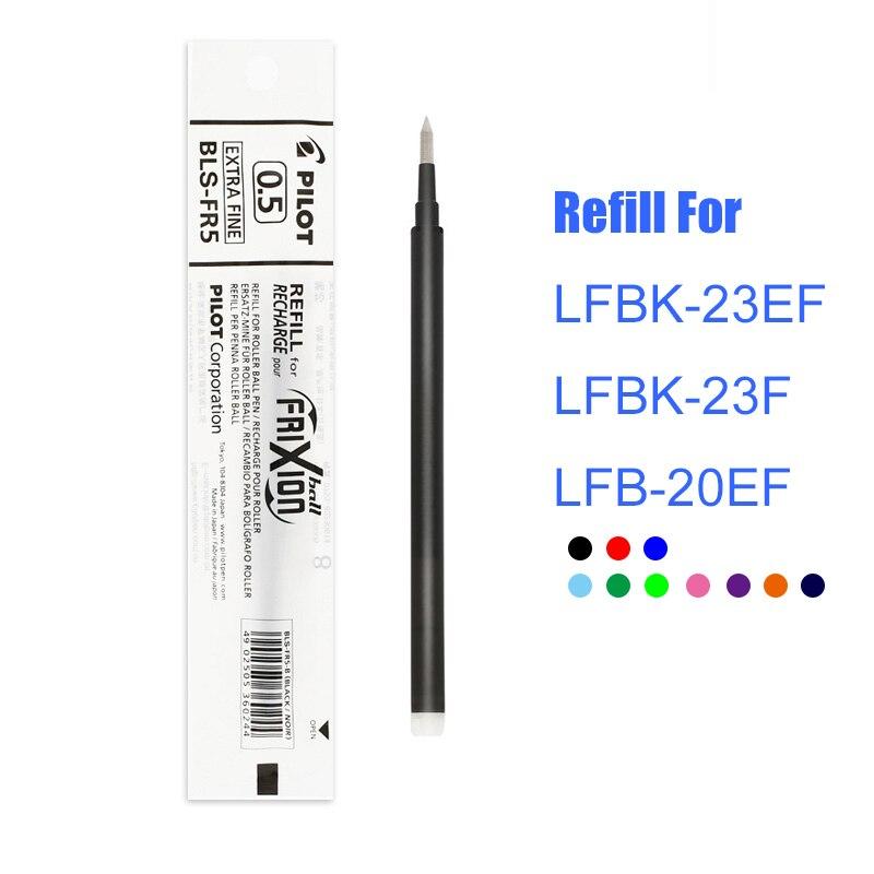 set da 4 blu 4 mm Ricarica per penna roller Frixion BLS-FR7