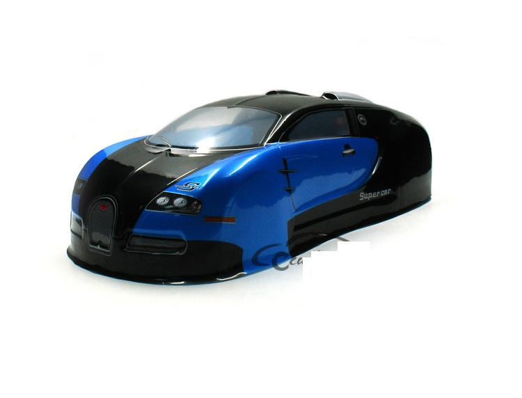 YUKALA <font><b>1/10</b></font> <font><b>RC</b></font> parts PVC painted body shell for <font><b>1/10</b></font> <font><b>RC</b></font> hobby racing on-road <font><b>drift</b></font> car(size: 435*190mm <font><b>wheel</b></font> base 260mm) image