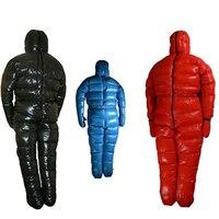 90%ホワイトグースダウン充填2000グラム南極北極遠征特別使用ダウンジャケット冬グースダウン寝袋
