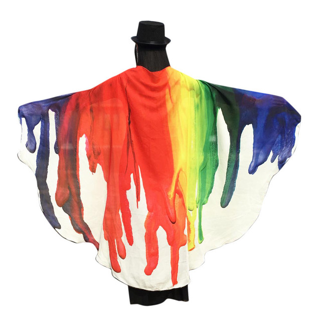 Soft Fabric Peacock Wings...