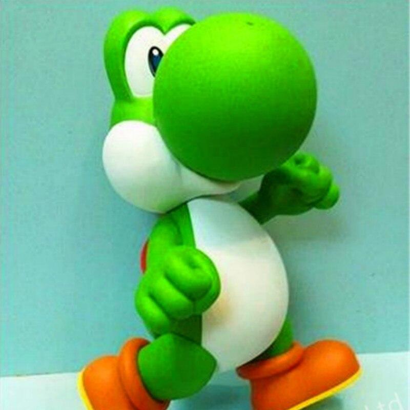 Figurines en PVC Super Mario Bros Yoshi poupée jouet 24 cm