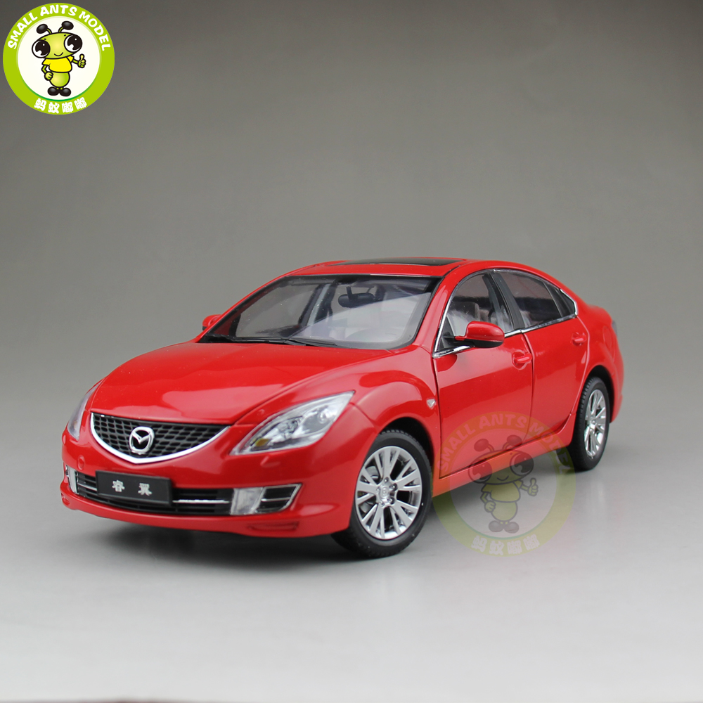 1 18 Mazda 6 Sedan Diecast Metal Car Model Toy Boy Girl Gift Collection Red