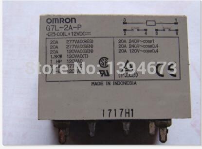 relay G7L-2A-P 12VDC G7L-2A-P-12VDC G7L2AP G7L-2A G7L 12VDC DC12V 12V DIP6 2PCS/LOT реле omron 2 h1 dc12v gen dpdt 1a 12v h1 12vdc 8pin 10pcs lot g5v 2 h1 12vdc