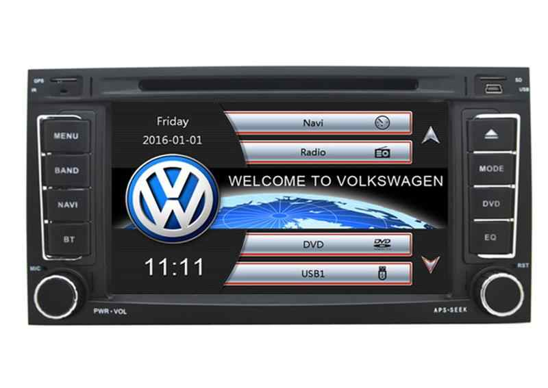 """7 """"車の DVD プレーヤー、 GPS (オプション) 、オーディオラジオステレオ、 Canbus 、カーマルチメディア vw トゥアレグ 2002 2003 2004 2005 2006 2007 2008 2009 2010"""