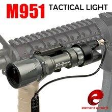 Élément SF M951 Tactiques Légers LED Version Super Bright lampe de Poche Avec Interrupteur À Distance Contrôleur Chasse Lumières EX 108
