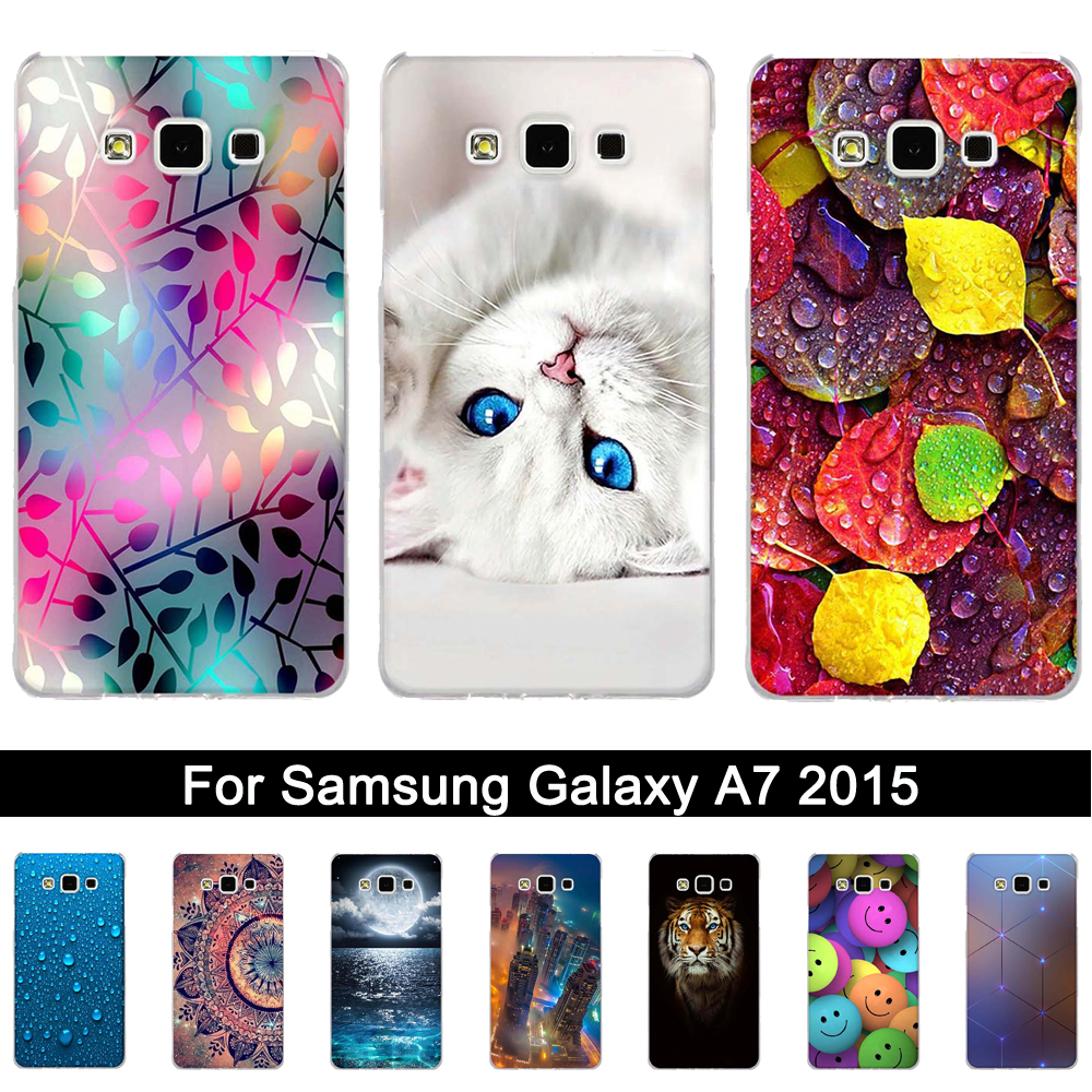 TPU <font><b>Case</b></font> For Samsung Galaxy A7 2015 <font><b>A700</b></font> A700F SM-A700F <font><b>Case</b></font> Silicone Back Phone Cover For Samsung A 7 2015 Cover Fundas Shells image