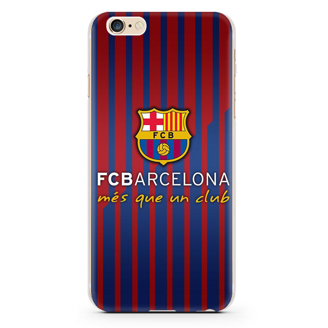 For Iphone 6S Case Capinhas barcelona Style Hard Transparent PC Phone Cover Case For Iphone SE 6 plus 6S 7 Plus 5s Fundas