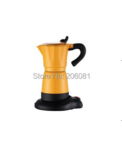 Electric moka coffee pot/mocha coffee pot with high quality,and perfect gift for everyoneElectric moka coffee pot/mocha coffee pot with high quality,and perfect gift for everyone