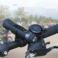 2016 Nuevo Hotsale Mini Deporte Al Aire Libre Bicicleta Inalámbrico Altavoz Bluetooth banco de Potencia temporizador LED Bike la Lámpara de Luz Para montaje