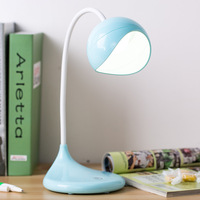 New Style Desk Lamp Student Reading Desk Lamp Simple Bedroom Bedside Night Light 3 Modes Touch