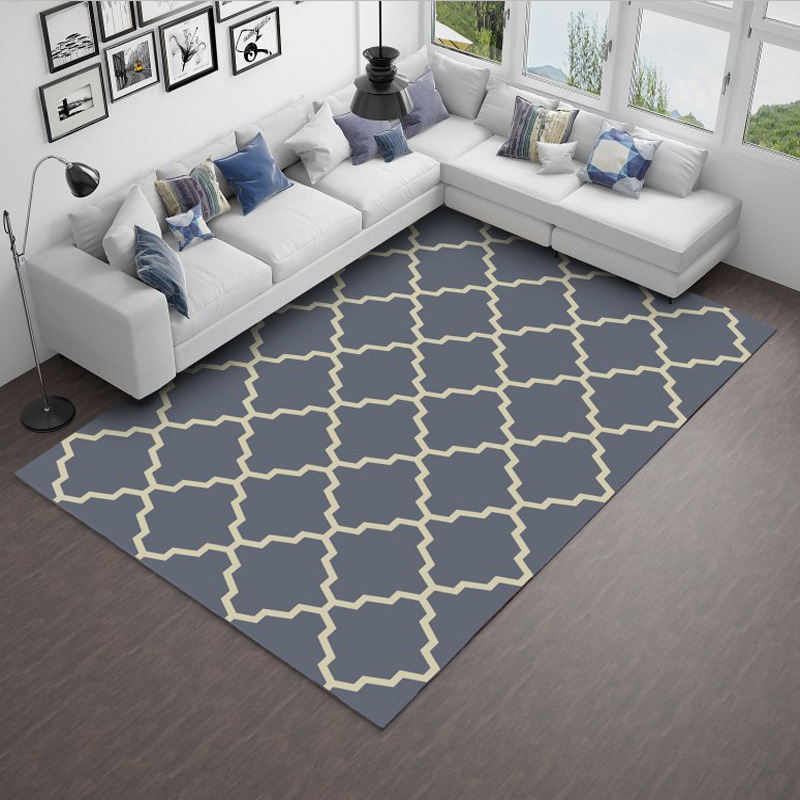 Moderne Simple Art grand tapis de salle de bain tapis de bain tapis de bain tapis d'absorption d'eau tapis de sol canapé tapis salon tapis