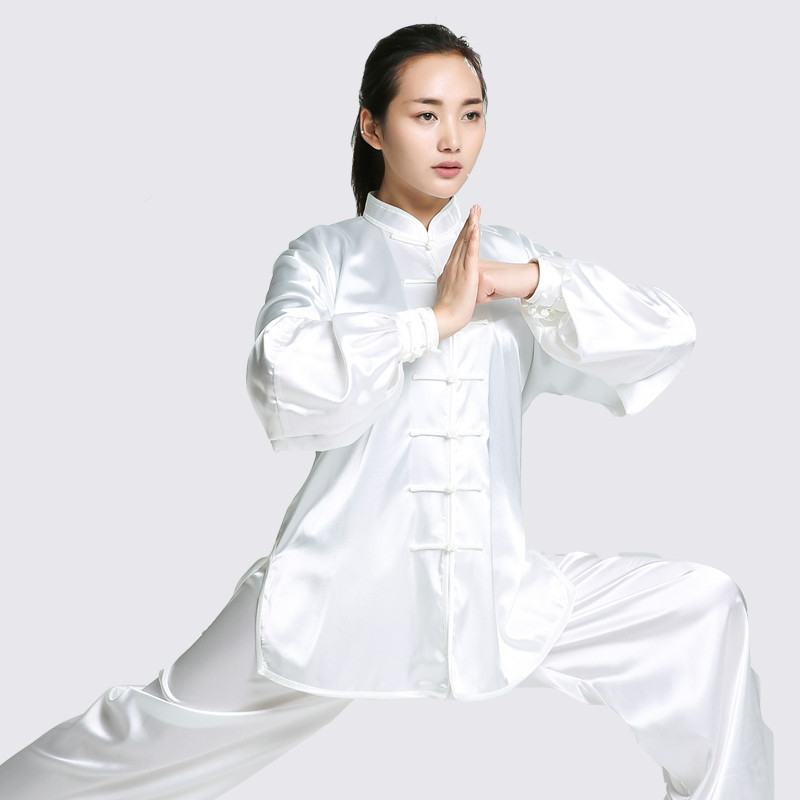 цена High quality Tai Chi clothing Long sleeve South Korea Kung Fu uniforms Martial Arts Costume wushu Performance Suit for men women онлайн в 2017 году