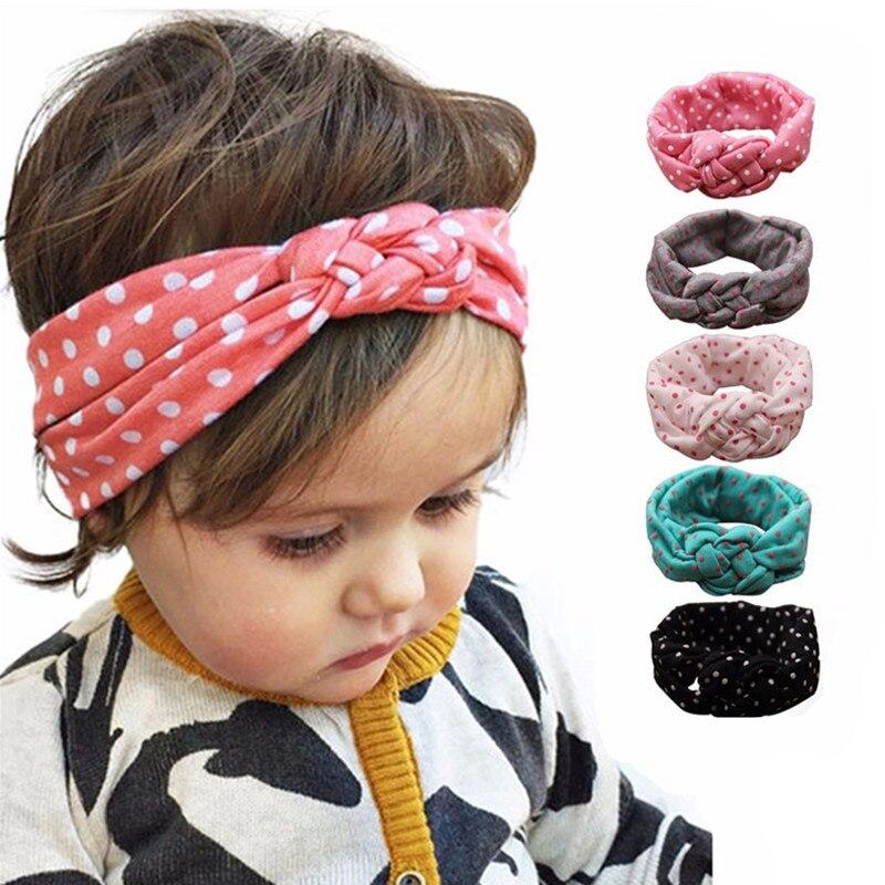 Detail Feedback Questions about Girls Knot Headband Kids Polka Dots Elastic  Headwrap Cross Turban Twisted Hair Accessories 10pcs on Aliexpress.com  88a47d0bbcb