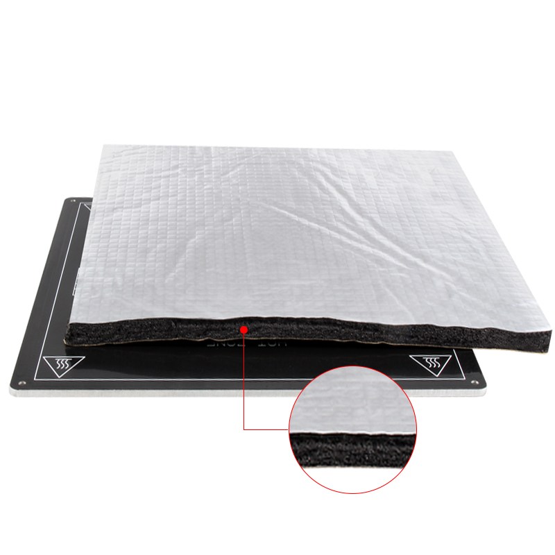 Heat Paper Insulation Cotton Foil and Self-adhesive 3D Printer Heat-bed Sticker as 3D Printer Parts 6