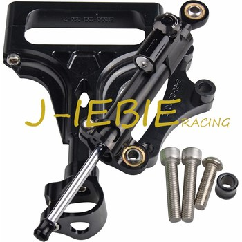 CNC Steering Damper Stabilizer and Black Bracket Mounting For Kawasaki Z1000 Z750 2003-2009 2004 2005 2006 2007 2008