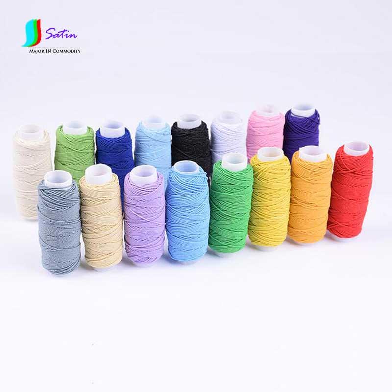US $11 65  Colorful 1MM/0 1cm Superfine/Ultrafine Round Elastic Band For  Skirt Fold Baseline Elastic Band,Innerstitc Elastic Thread S0238H-in  Elastic