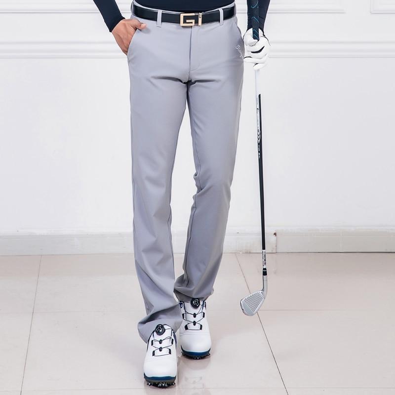 Nouveau 2019 pantalons de Golf hommes pantalons Sports de plein air vêtements de Golf été respirant mince de haute qualité 5 couleurs - 3