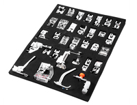 32pcs Presser Foot Feet for Sewing Machines Brother Singer Janom