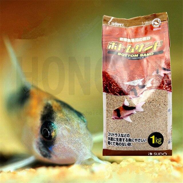 Japan Sudo 1 Piece 1kg Fish Tank Bottom Sand Aquarium Landscaping