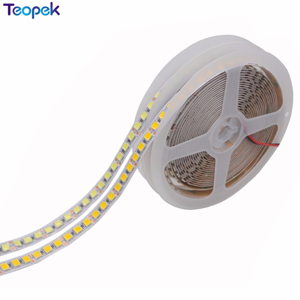 Супер яркий светодиодный светильник 5054, холодный белый, теплый белый, зеленый, ледяной, синий, розовый, красный, 5 м, 600 светодиодов, 12 в пост. Т...