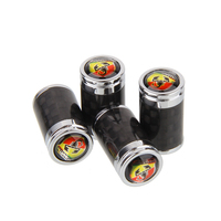 Car Wheel Tire Valve Stem Caps for Abarth 500 595 695 Fiat 124 131 Abarth 124 spider Punto 1000 204A Tyre Dust Cover Decoration|Valve Stems & Caps|   -